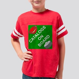 Catalogs on Board Youth Football Shirt